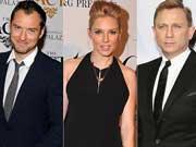 裘德-洛出席窃听案:前女友西耶娜曾与007出轨