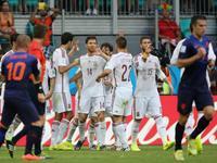 科斯塔造点阿隆索破门 西班牙1-0领先荷兰