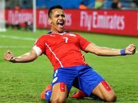 智利3-1轻取澳大利亚 桑切斯2分钟传射