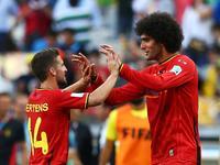 比利时2-1逆转阿尔及利亚 费莱尼头球默滕斯爆射