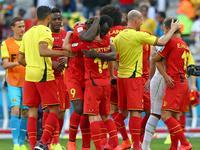 全场回放-比利时2-1阿尔及利亚 费莱尼默滕斯演逆转好戏