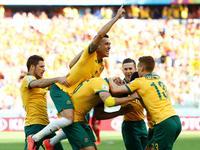 扬马特送点耶迪纳克命中 澳大利亚2-1反超