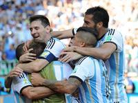 全场回放-阿根廷1-0伊朗 梅西补时世界波绝杀