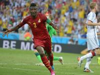 德国球员如同梦游 吉安破门加纳2-1反超比分