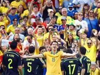 全场回放-澳大利亚0-3西班牙 比利亚破门众将告别世界杯