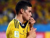 詹罗反击再下一城 哥伦比亚4-1横扫日本