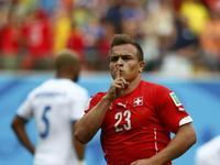 德尔米奇助沙奇里梅开二度 瑞士2-0再下一城