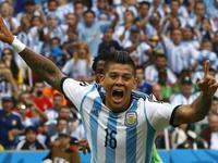 罗霍接角球抢点破门 阿根廷悍将收获世界杯首球