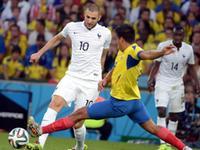 全场回放-厄瓜多尔0-0法国 瓦伦西亚染红本泽马低迷