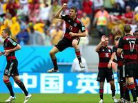 世界杯第15比赛日最佳进球 穆勒抽射破门