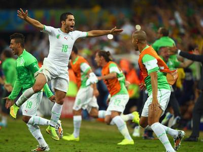 全场回放-阿尔及利亚1-1俄罗斯 费古利挂彩坚持苏莱曼尼破门