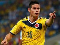 哥伦比亚2-0乌拉圭 J罗2球领跑射手榜