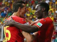 卢卡库爆射破门得分 比利时2-0加时再下一城
