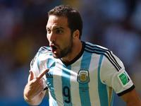 世界杯第21比赛日最佳进球 伊瓜因扫射终开张