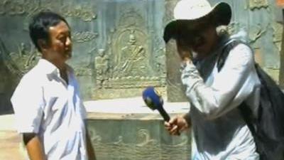 吐鲁番地表温度六十度正常 张掖至今仍为贸易重镇