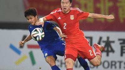 国足热身赛全场录播 中国男足vs泰国男足-乐视