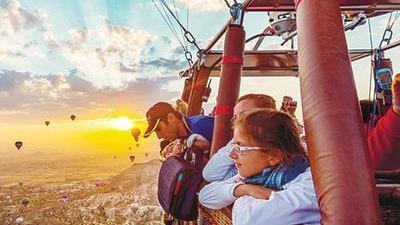 热气球圣地卡帕多西亚 空中体验魅力土耳其