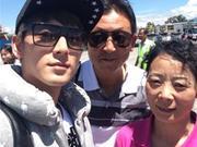 《带着爸妈去旅行》20150104:陈翔为妈妈献歌表孝心 划艇赛导演组搞笑落水