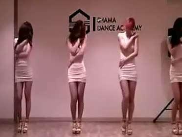 韩国美女舞团性感火辣热舞集锦