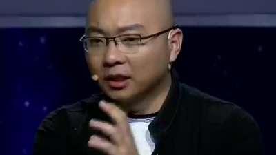 陈光标化身饱读诗书文艺骚男