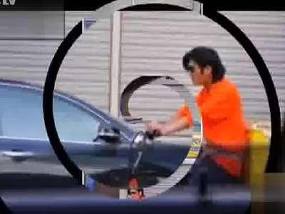 杭州外卖哥酷似谢霆锋微博走红图片图片