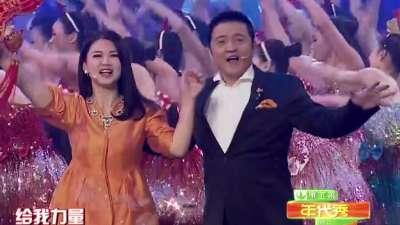 赵屹鸥 李湘《魅力十足》-2014深圳卫视春晚