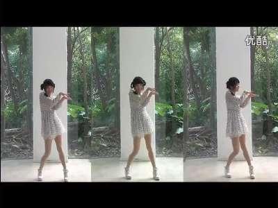 【小苹果】 可爱美女单人自拍版