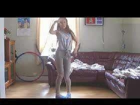 美女紧身裤性感热舞