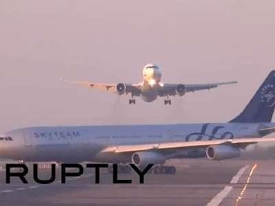 场险些与另一架飞机相撞