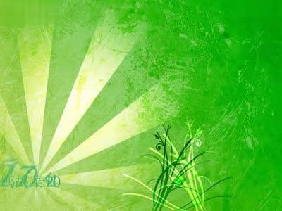 绿色花纹生长动画- 在线观看