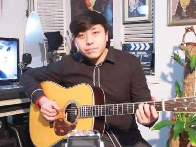 你是我的眼 郝浩涵 吉他谱