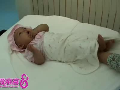 新生婴儿护理视频之包裹抱被方法-新