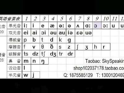 谁能告诉我,48个英语国际音标怎么读,或者是有哪些软件英标,.图片