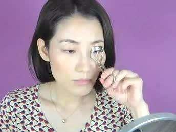 单眼皮眼妆化妆技巧手机平台BY乔琳--情人节韩如何用教程v手机微信视频公众图片