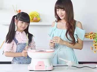 棉花糖机淘宝广告