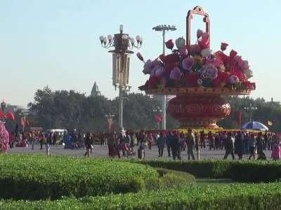 今天是你的生日我的祖国--天安门广场拍摄散记