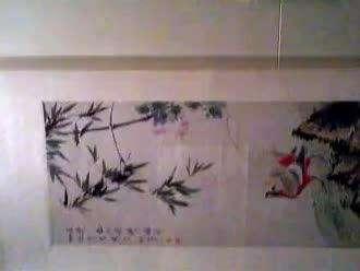 上海博物馆画展一角(2)