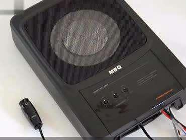 mbq汽车音响超薄低音炮最新款ab63背光面板及线控